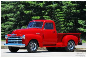 A 1950 Chevy Series 3100 Pickup Truck by TheMan268