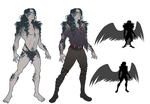 Leander the Crow Child of the Unseelie Court by Northfarthing