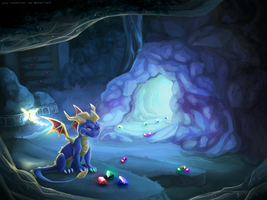 Spyro ~ Dark Hollow by Lord-StarryFace