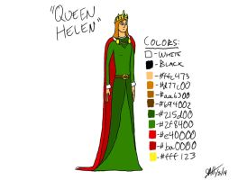 Queen Helen by GeebMachine