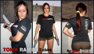 Tomb Raider 2013 T-shirt by Val-Raiseth