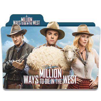 A Million Ways to Die in the West 2014 Folder Icon by sonerbyzt