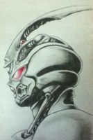 Guyver Sketch by lerod2