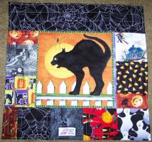 halloween preemie quilt 3 by wiccanwitchiepoo
