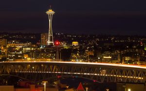 Space Needle, Seattle, WA by vmulligan