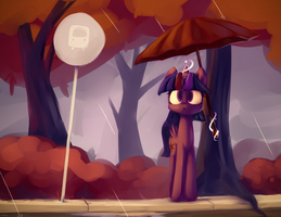 Morning Drizzle by Bloodatius
