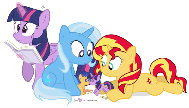 You'll Be Flash, And I'll Be Twilight by dm29