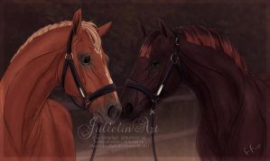 Two Young Prodigies by Jullelin