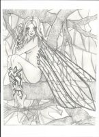 Faerie in a Tree by Kinara92