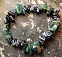 Pagan Forest Dryad - Healing/Protection Bracelet by Wilhelmine