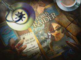 Tomb Raider: Natla's Desk by KissBite