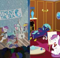 Room Signs for Bronycon 2015 by masemj