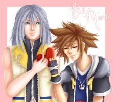 -KH2- Be Mine by GawainesAngel