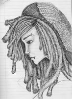 Cute Rasta Girl by Whyte-Griffin