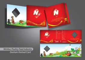 Nimbus poultry feed Greeting by LoVa85