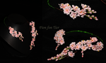 Sakura flowers necklace by fion-fon-tier