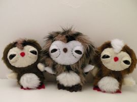 Baby Owlets by loveandasandwich