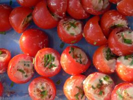 Filled tomatoes by Hansmar