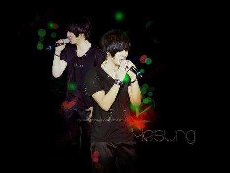 Yesung Wallpaper by nukaalbastra