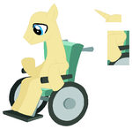 Wheelchair Stallion Base by SelenaEde