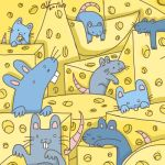 Mice party by Catharin4