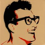 Buddy Holly by TOXICSTILLS