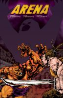 Arena cover colored by Robert by PeterPalmiotti
