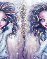 Winter Twins by parochena