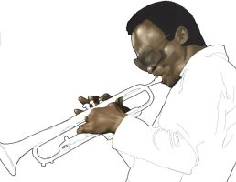 miles davis WIP by iforgotmypassword