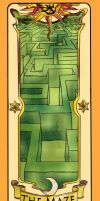 Clow Card The Maze by inuebony