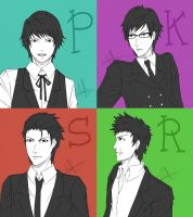 The Penguin Boys by Muffinpuff