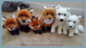 SOS Leosco fox collection! by Vesperwolfy87