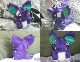 Nidoking Pokedoll by Glacideas