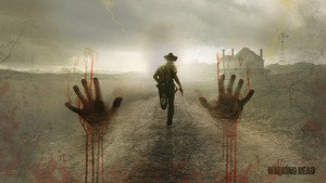 The Walking Dead Wallpaper by BlooddrunkDesigns