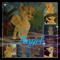 ( Lady and the Tramp 2 ) Angel Collage by KrazyKari