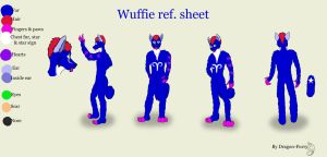 Wuffie. Ref sheet by Dragon-Furry