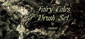 Fairy Tales Brush Set by CindaLawrencers