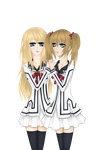 Collab Rima and Reika by Caprice-H