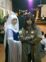 Rowena Ravenclaw  and Kili by seawaterwitch