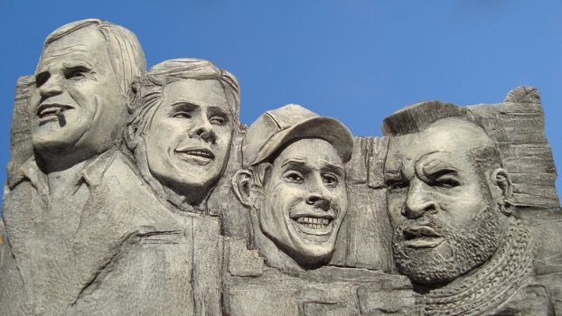 A-Team Mount Rushmore by JFSculpts