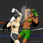 Liz vs Rui rematch  pt 3 by deadpoolthesecond