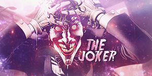 The Joker // Signature by saxn