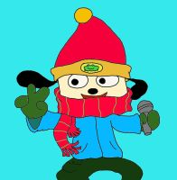 Christmas Parappa by SpongeDudeCoolPants