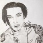Andy biersack with beard by xxdaswarwohlnix
