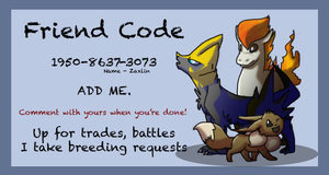 Friend Code Business Card Demo (3DS) by Zaxlin