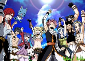 Fairy Tail 435 by LucyD-Aladdin