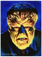 Lon Chaney Jr., the Wolfman by DenmanRooke