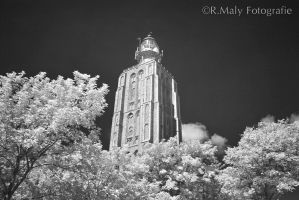 IR Lighthouse by TLO-Photography