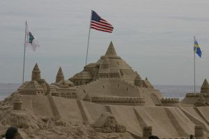 Castles in the sand by jswis