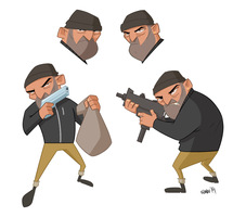 22/04/2014 Thief - Simple characters by szlapa